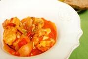 キューピー3分クッキング レシピ チキンの濃厚トマトソース煮