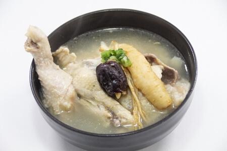 キューピー3分クッキング レシピ 鶏手羽元の参鶏湯