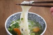上沼恵美子のおしゃべりクッキング レシピ 焼き餅と高菜のスープ お餅と合鴨のみぞれ仕立て