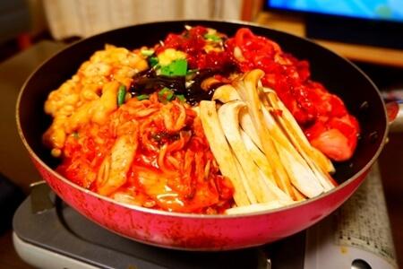 キューピー3分クッキング レシピ 牛肉と豆腐のキムチすき焼き