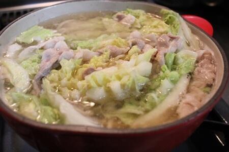 きょうの料理 レシピ 白菜としょうがのゆずこしょう鍋 藤井恵