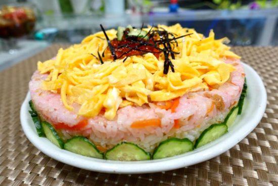 カラフルケーキ寿司