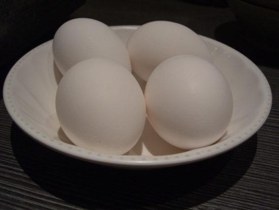 卵のフライ