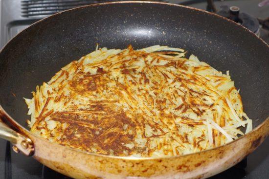 ハムチーズ入りポテトガレット