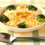 ブロッコリーの豆腐味噌グラタン