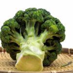 ブロッコリーの茎の浅漬けの10秒サラダ