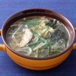 【キャスト】韓国風ひろめスープの作り方を紹介!天満大阪昆布さんのレシピ