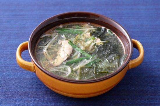 韓国風ひろめスープ