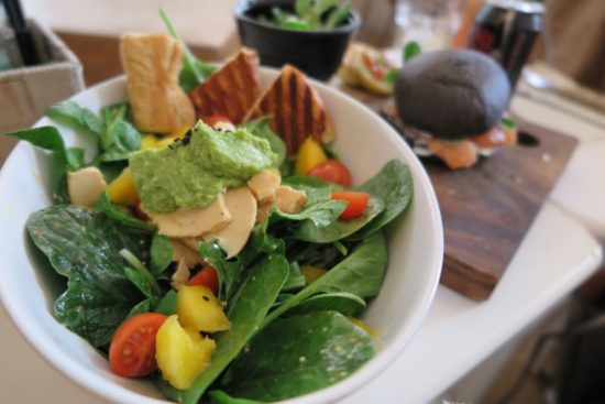 空心菜とホタルイカのペペロンチーノ