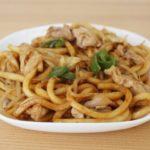 【おしゃべりクッキング】味噌焼きうどんの作り方を紹介!岡本健二さんのレシピ